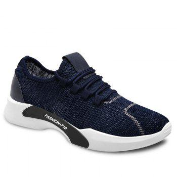 Breathable Low Top Mesh Sneakers