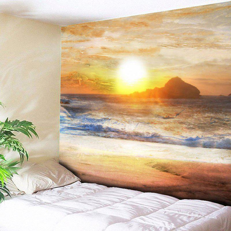 Sunset Scenery Printed Wall Hanging Tapestry гидрофильное масло it s skin green tea calming cleansing oil объем 145 мл