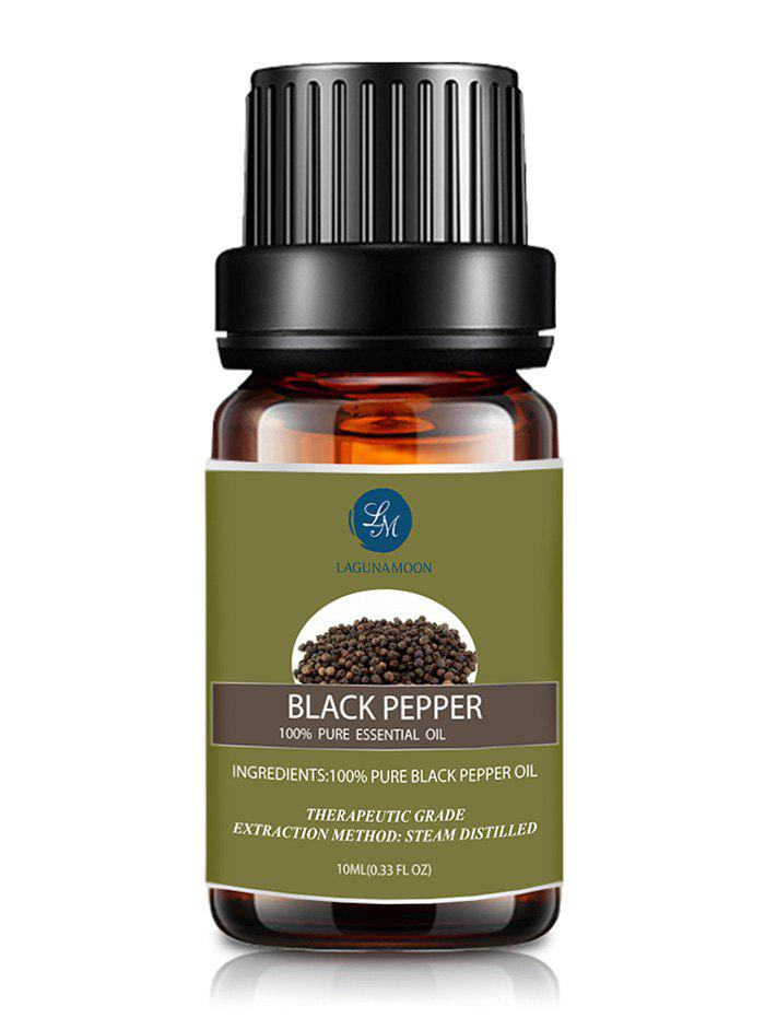 10ml Black Pepper Massage Aromatherapy Essential Oil - ARMY GREEN