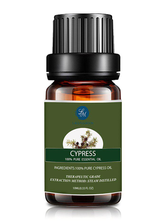 10ml Natural Cypress Aromatherapy Essential Oil - BLACKISH GREEN