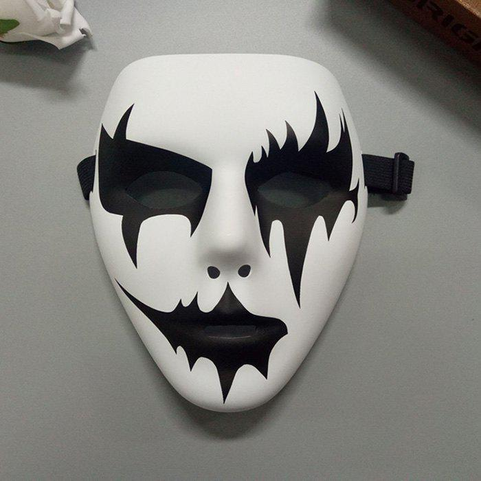 Halloween Party Devil Mask - WHITE