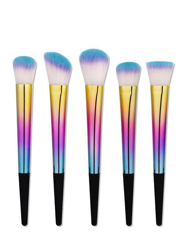 Tapered Glitter Handle Makeup Brushes Set 10pcs unicorn tapered shape makeup brushes set