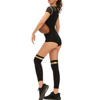 Football Halloween Costume Outfit - BLACK L