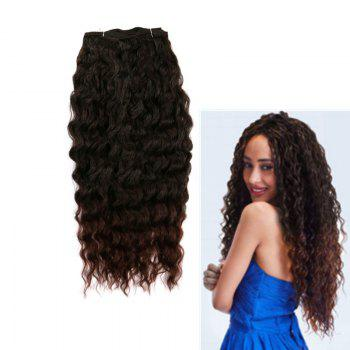 Long Shaggy Deep Weave Heat Resistant Fiber Hair Wefts
