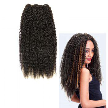 Long Fluffy Curly Heat Resistant Fiber Hair Wefts