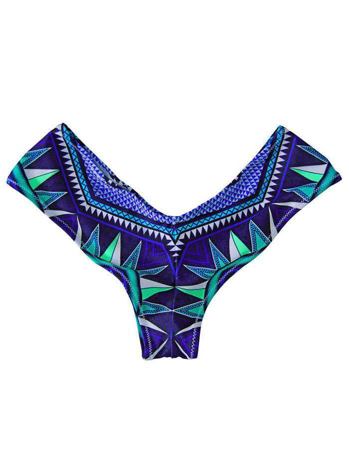 High Cut Swim Panties - ROYAL L