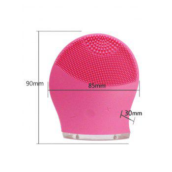 Silicone Charging Massage Facial Cleansing Brush Device - TUTTI FRUTTI
