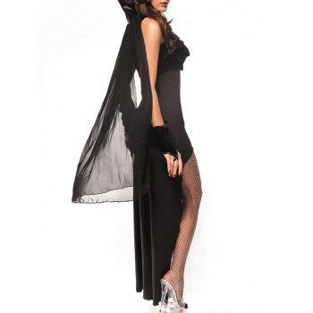 Vampire Princess Halloween Costume - BLACK BLACK
