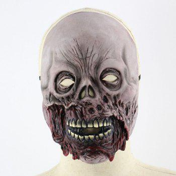 Halloween Decoration  Zombie Printed Mask - COLORFUL