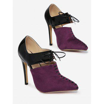 Tie Up Two Tone Pumps