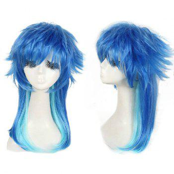 Long Straight Dramatical Murder/DMMD Seragaki Aoba Cosplay Anime Wig