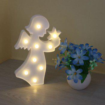 Angel Shape Decoration Atmosphere Lamp - Blanc