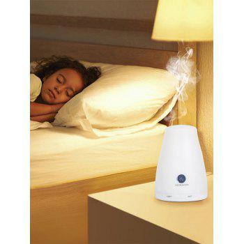 160ML Portable Bluetooth LED Essential Oil Diffuser - WHITE WHITE