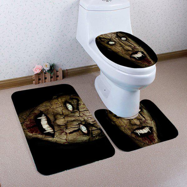 Halloween Vampire Pattern 3 Pcs Bathroom Toilet Mat american vampire volume 3