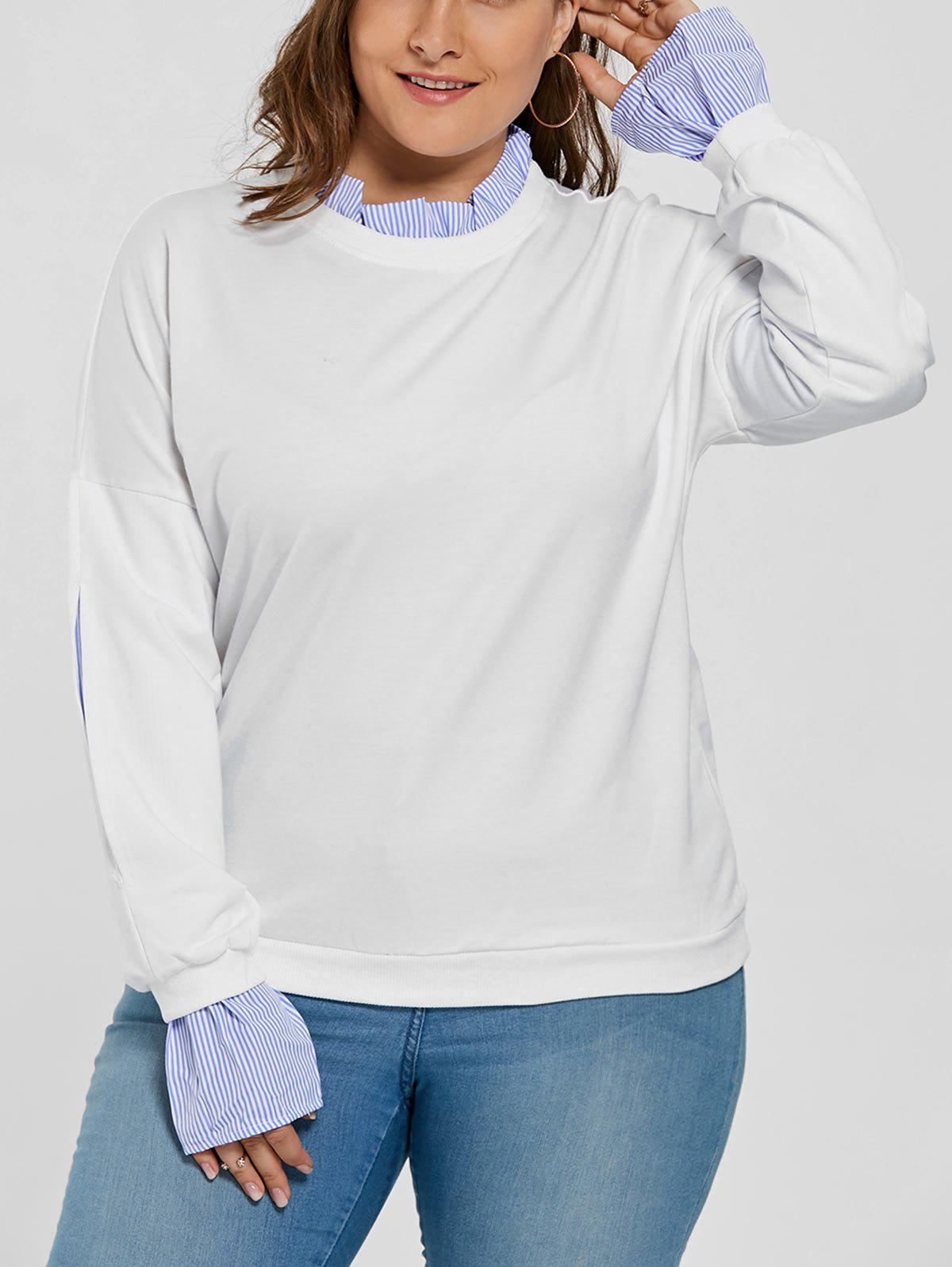Plus Size Drop Shoulder Ruffle Neck Sweatshirt 1080p 720p security network cctv wifi ip camera megapixel hd wireless digital ir infrared night vision system micro sd card