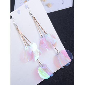 Gradient Color Design Drop Earrings -  TRANSPARENT