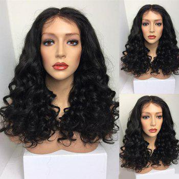 Long Middle Part Bouffant Curly Synthetic Wig