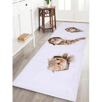 Larger Through Wall Cats Water Absorbent Bath Rug