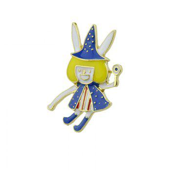 Magic Fairy Halloween Brooch -  GOLDEN