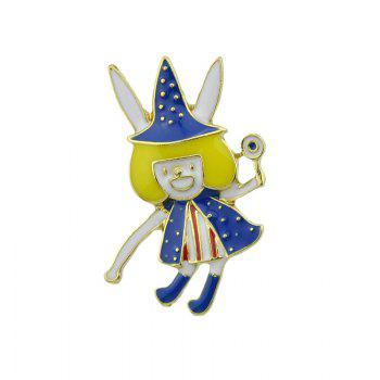 Magic Fairy Halloween Brooch - GOLDEN GOLDEN