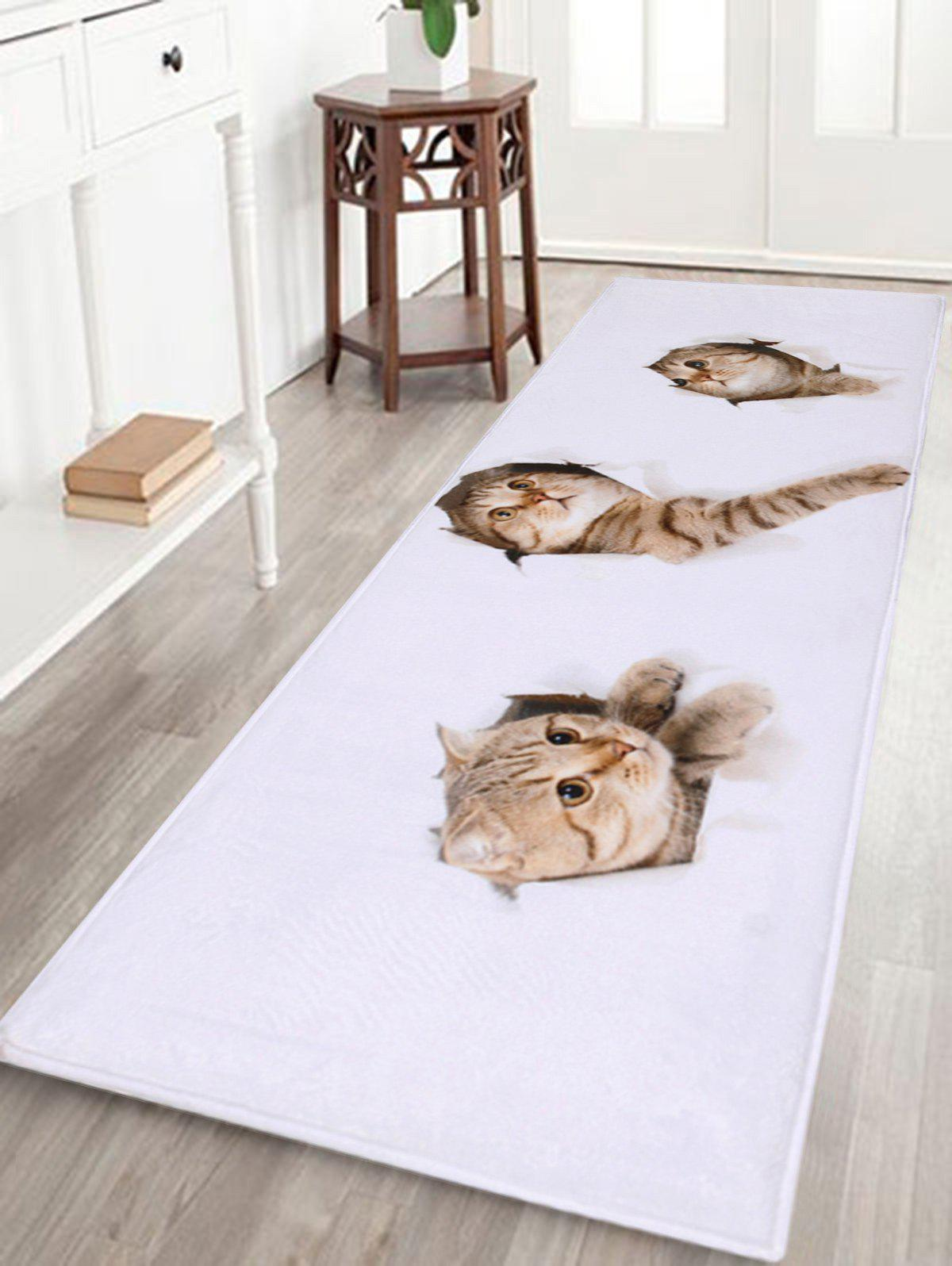 Larger Through Wall Cats Water Absorbent Bath Rug soft absorbent letter star wars bath rug