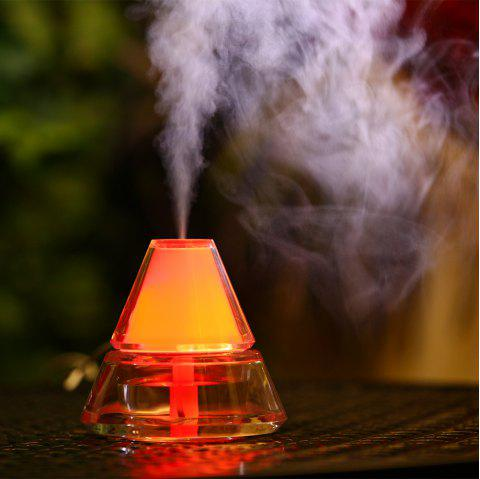 Iceberg Humidifier With Color Changing LED Light - PINK