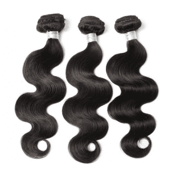 3Pcs / Lot 5A Remy Indian Long Free Part Body Wave Les cheveux humains se tissent - Naturel Noir 20INCH*22INCH*24INCH