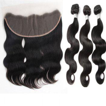 3Pcs/Lot 5A Remy Indian Long Free Part Body Wave Human Hair Weaves