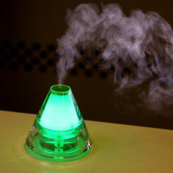 Iceberg Humidifier With Color Changing LED Light - GREEN