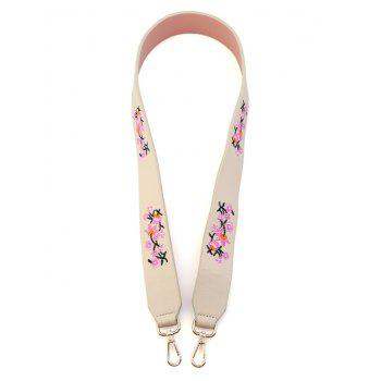 Tiny Floral Embroidered Bag Strap - OFF-WHITE OFF WHITE