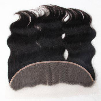 3Pcs/Lot 5A Remy Indian Long Free Part Body Wave Human Hair Weaves - NATURAL BLACK NATURAL BLACK