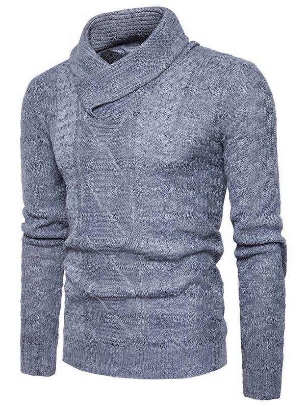Shawl Collar Pullover Ribbed Sweater колесные диски replica legeartis concept mb509 7x17 5x112 d66 6 et45 mbrs