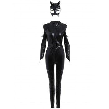 Fitted Classic Halloween Costume - BLACK ONE SIZE