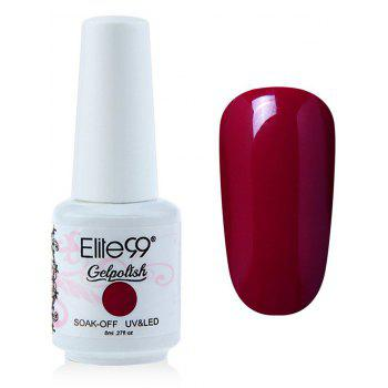 Elite99 6 Colors UV LED Soak Off Gel Nail Polished Kit -