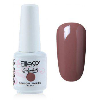 Elite99 6 Colors Polish UV LED Soak-off Gel Nail kit -