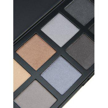 8 Colors Facial Mineral Eyeshadow Palette -