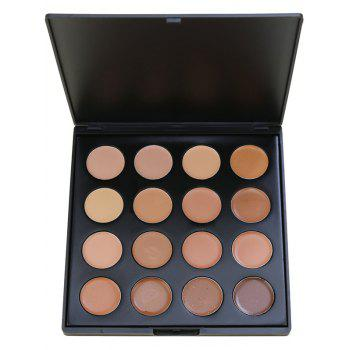 6 Colours Facial Concealer Palette - #01