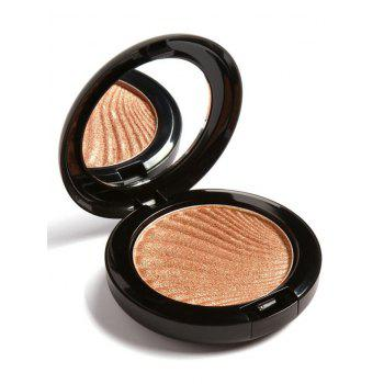 Natural Shimmer Metallic Highlighter Powder Palette -