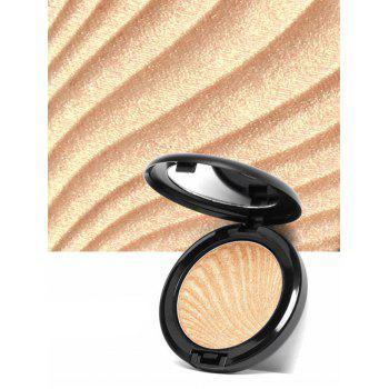 Natural Shimmer Metallic Highlighter Powder Palette - #03