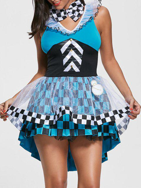 Costume de cosplay de fée Ball Gown - multicolore ONE SIZE