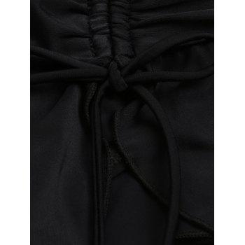 Skirted Swimming Bottom - BLACK 2XL