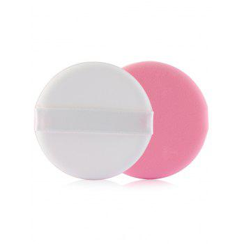 8Pcs Portable Multipurpose Powder Puff with Box -  LIGHT PINK