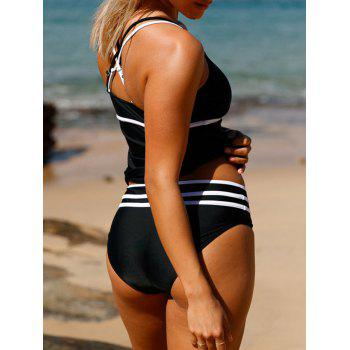Cross Back Tankini Set - XL XL