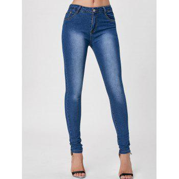 Jeans skinny à haute taille Dark Washed - Azuré S