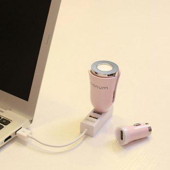 USB Charger Air Purifying Car Aromatherapy Diffuser -  PINK