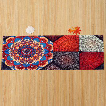 Bohemian Home Entrance Antislip Area Rug - COLORMIX W24 INCH * L71 INCH