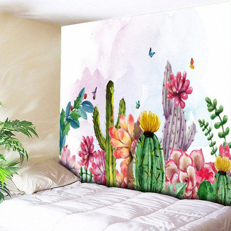 Cactus Printed Wall Hanging Tapestry outer space printed wall hanging tapestry
