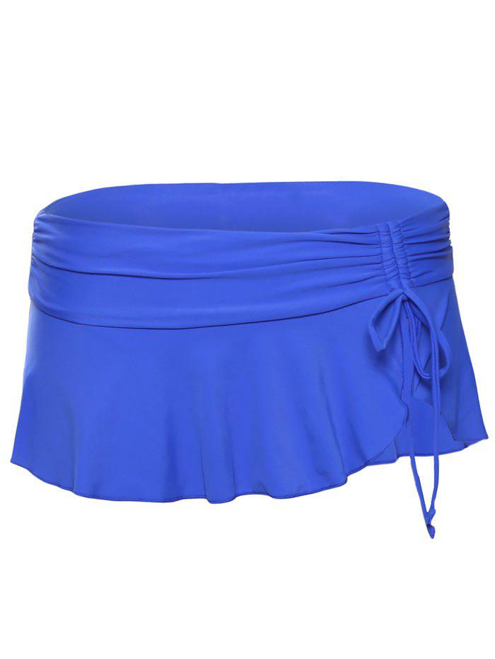 Skirted Swimming Bottom - ROYAL 2XL