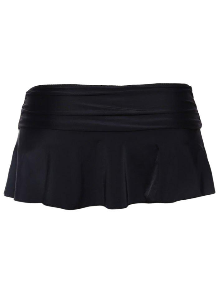 Skirted Swimming Bottom - BLACK XL