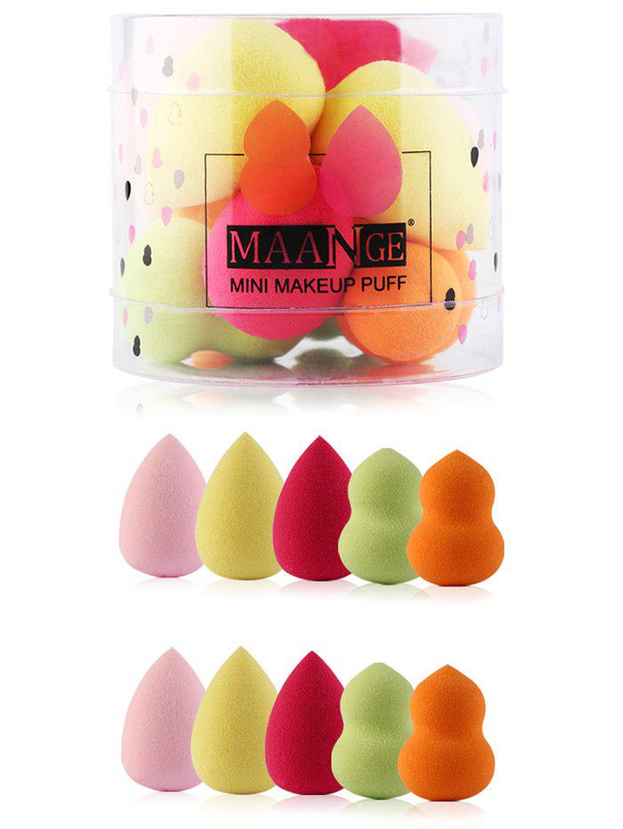 Image of 10pcs Makeup Beauty Sponges with Box